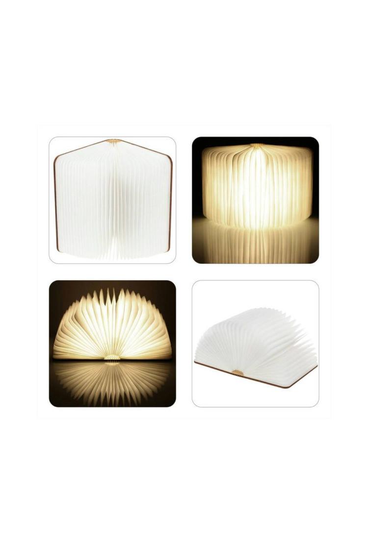 Светодиодная светящаяся книга Lumobook (грецкий орех) (17*21,5см)