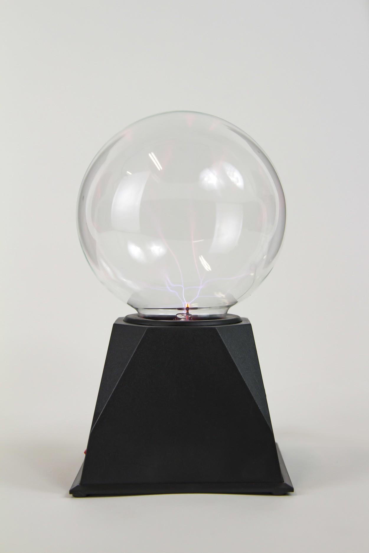 Плазменный шар Тесла (D-12см) Blue
