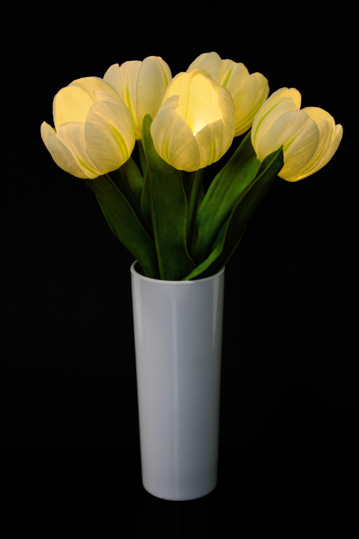 Светильник Тюльпаны (белые)