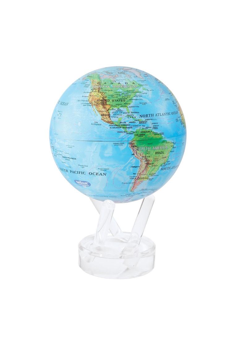 Глобус Mova Globe d12 с географической картой мира