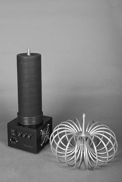Катушка Тесла TT-Solid State 65см с тороидом