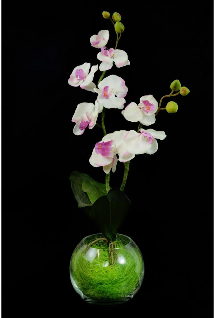 Светильник Орхидея Розовая (син. крошка) 9 цветков