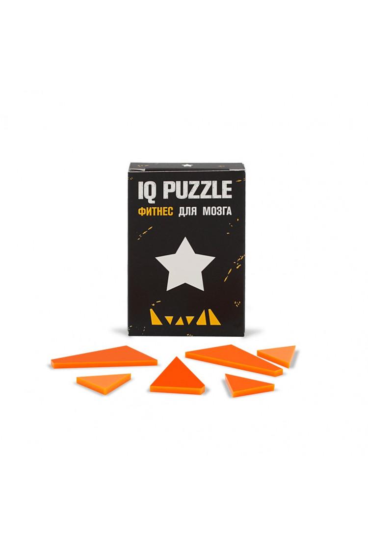 IQ PUZZLE Звезда ( 6 деталей)