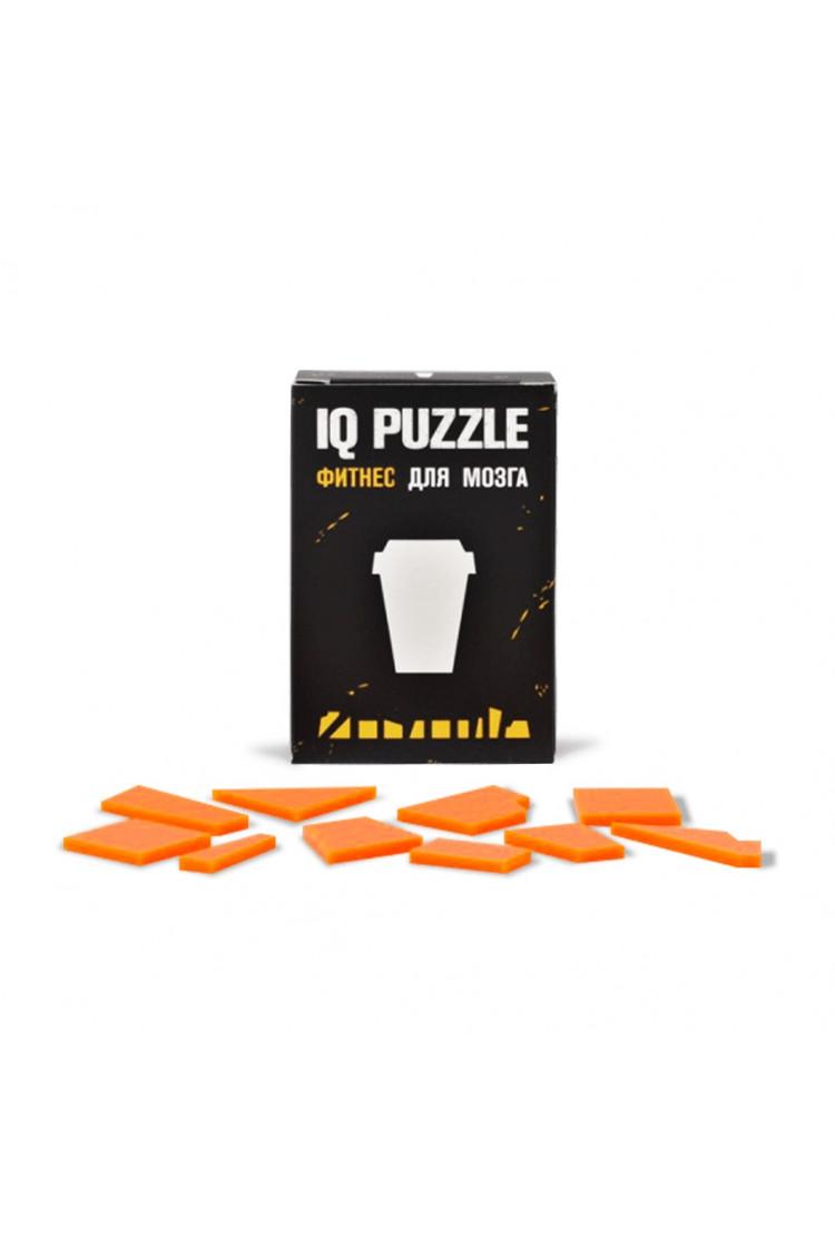 IQ PUZZLE Кофейный Стаканчик ( 10 деталей)