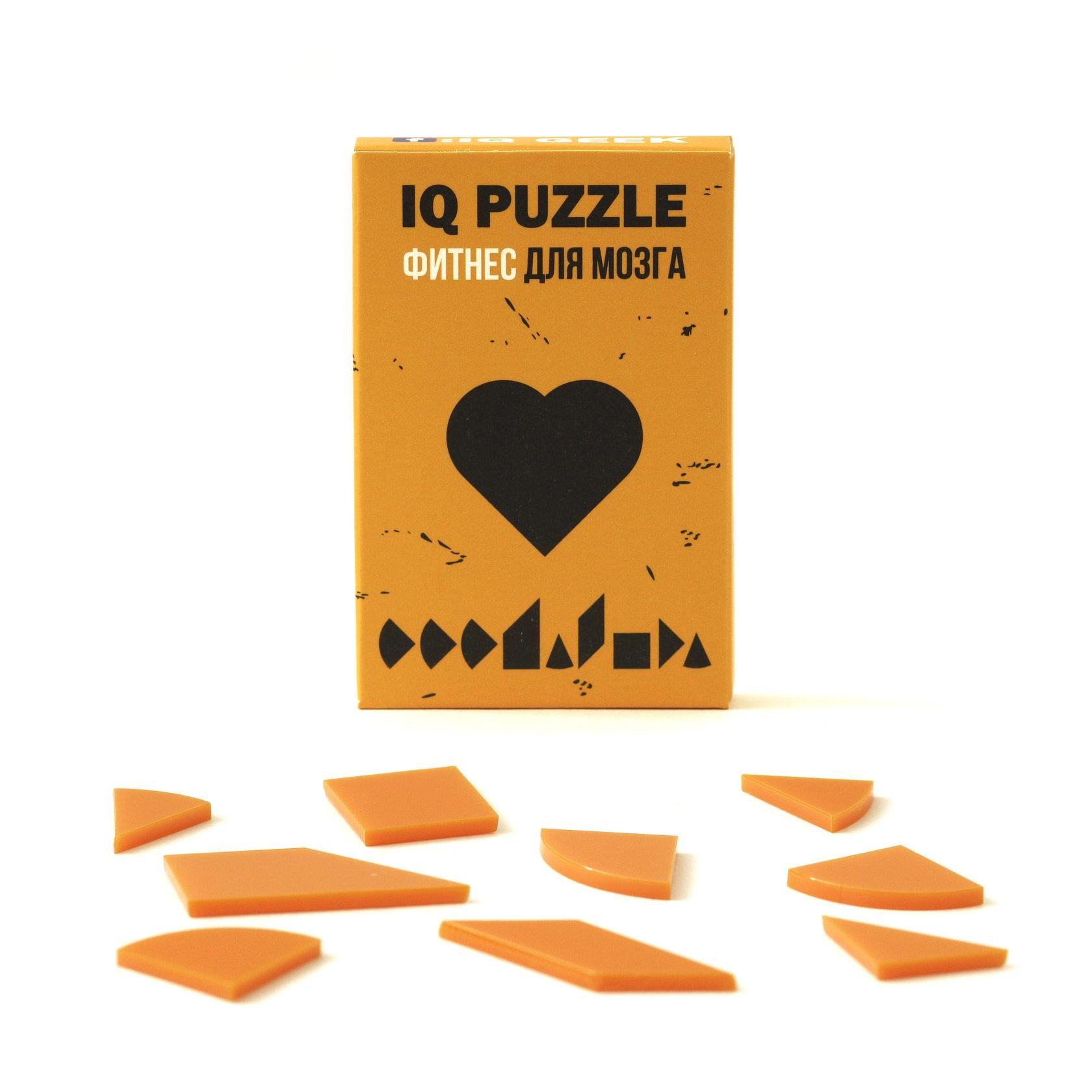 IQ PUZZLE Сердце ( 9 деталей)