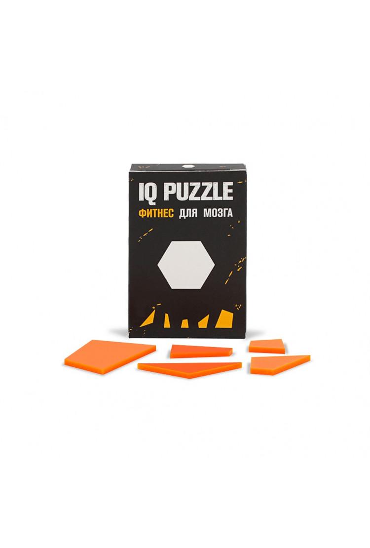 IQ PUZZLE Шестиугольник ( 5 деталей)