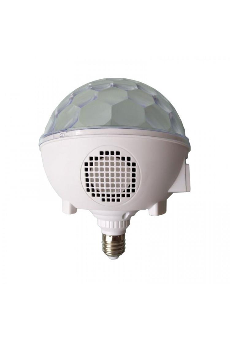 Музыкальный диско-лампочка Е27 almagic (Bluetooth)