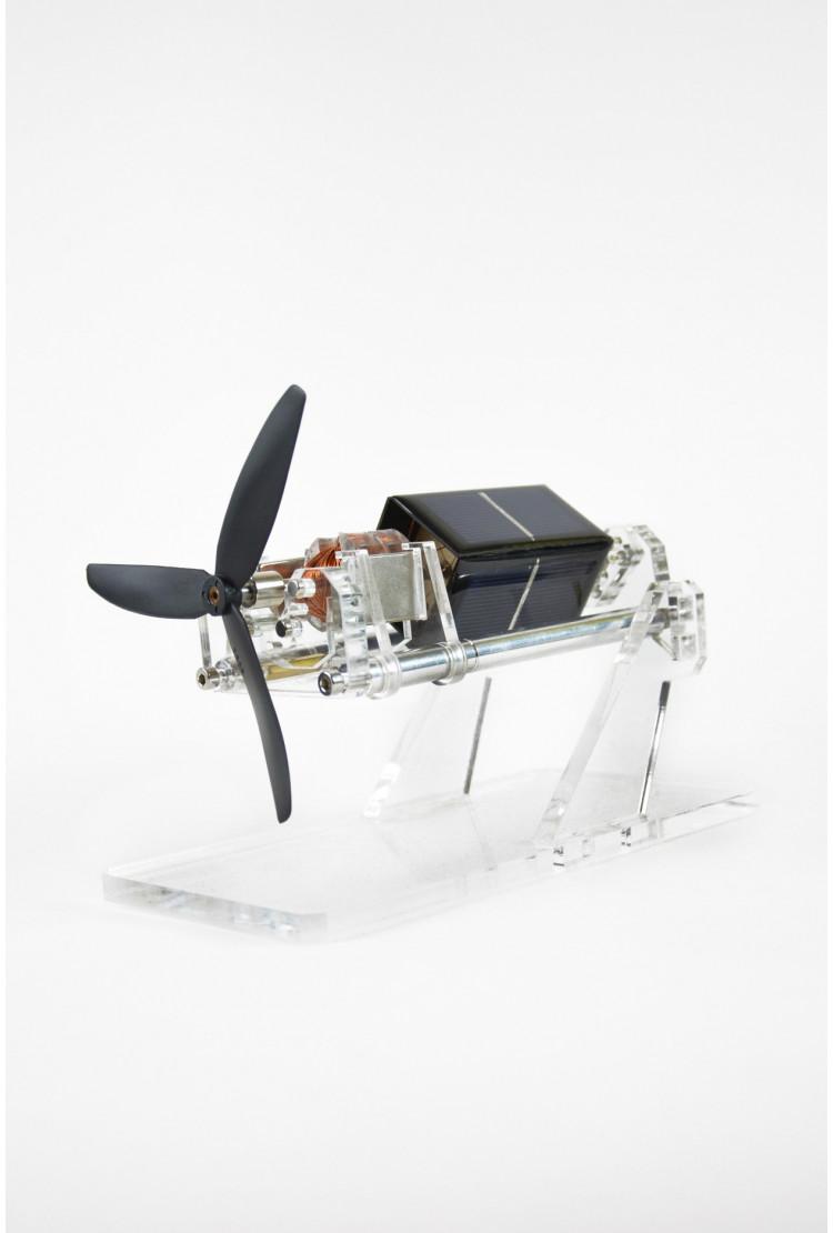 Левитирующий двигатель большой с пропеллером