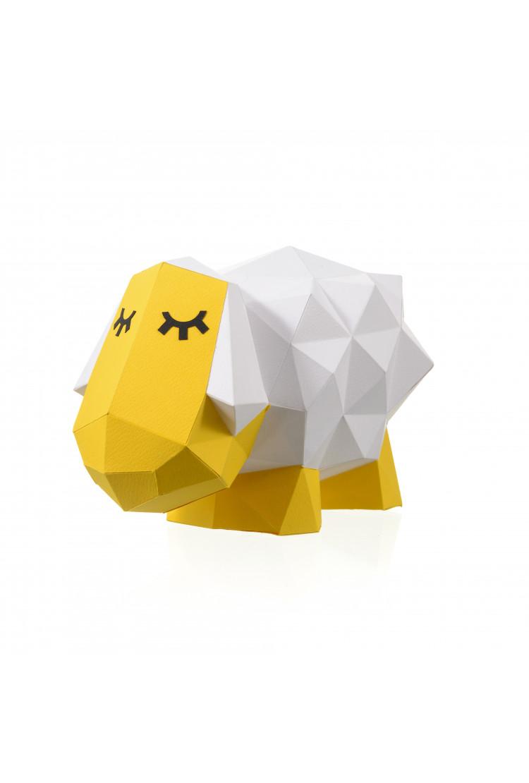 "3D-конструктор Paperraz ""ОВЕЧКА ДОЛЛИ"""