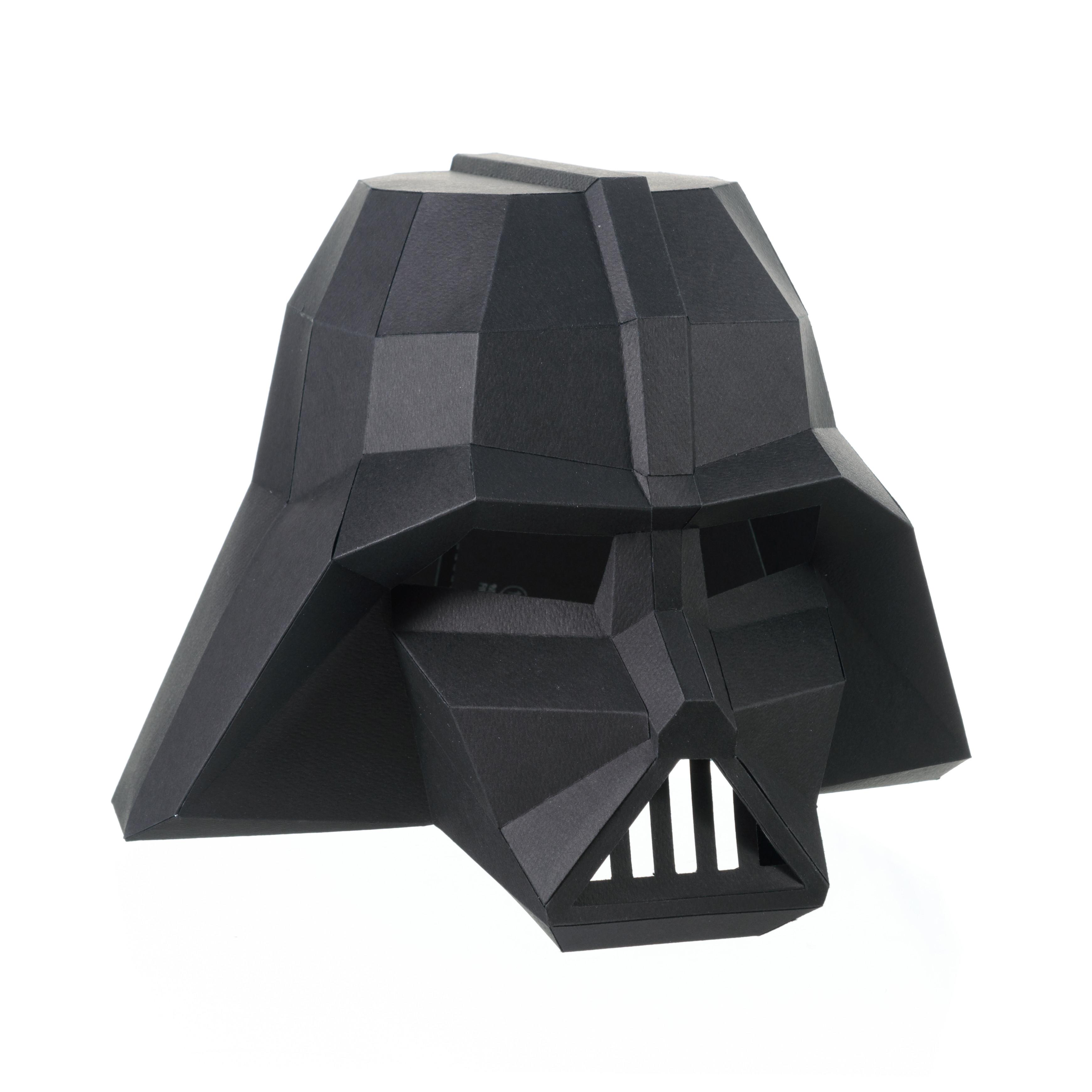 "3D-конструктор Paperraz  Маска ""Дарт Вейдер"""
