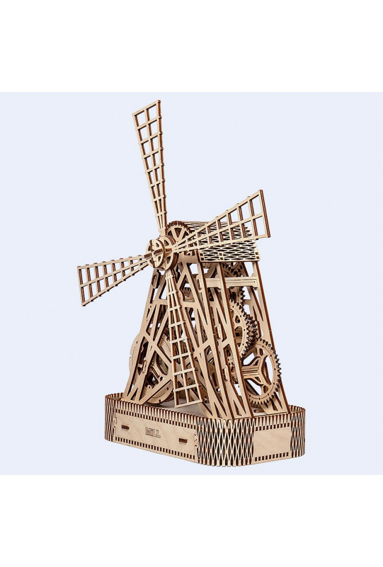 Woodencity - Механическая ветряная мельница