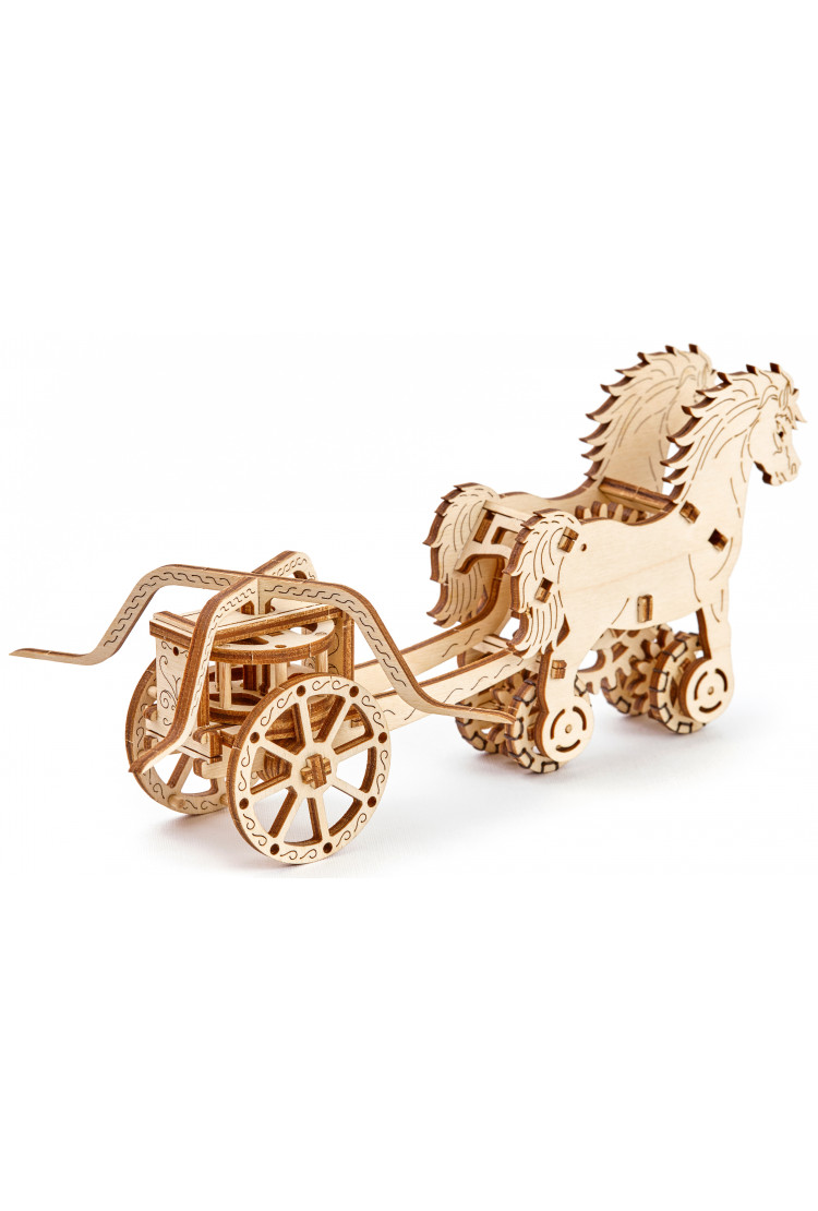 Колесница Да Винчи -  Wooden city