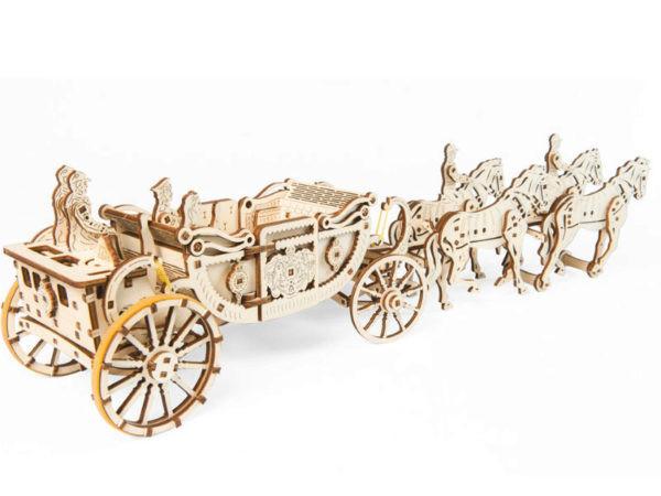 Сборная модель Ugears Королевская карета