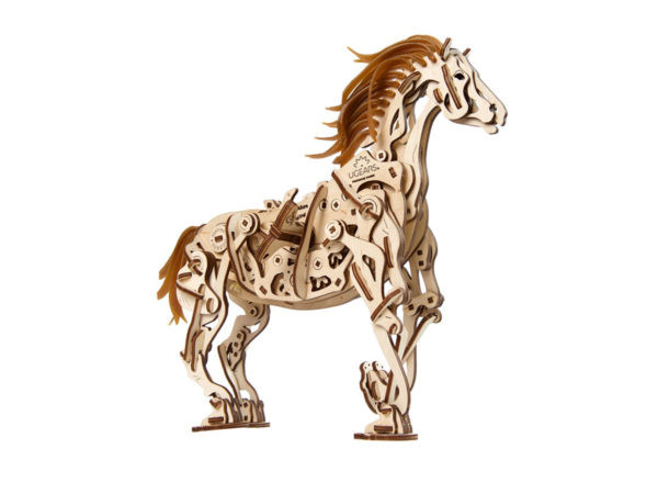 Конструктор 3D-пазл Ugears Конь-механоид