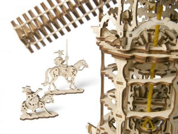 Сборная модель Ugears Мельница-башня