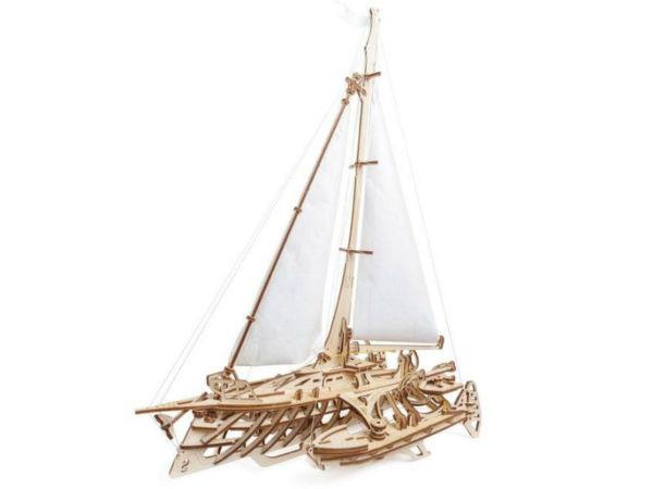 Сборная модель Ugears Тримаран Мерихобус