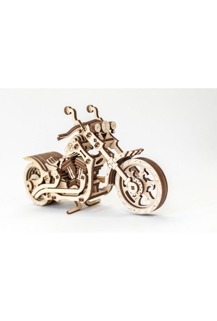 Конструктор 3D-пазл EWA - Мотоцикл (Cruiser)