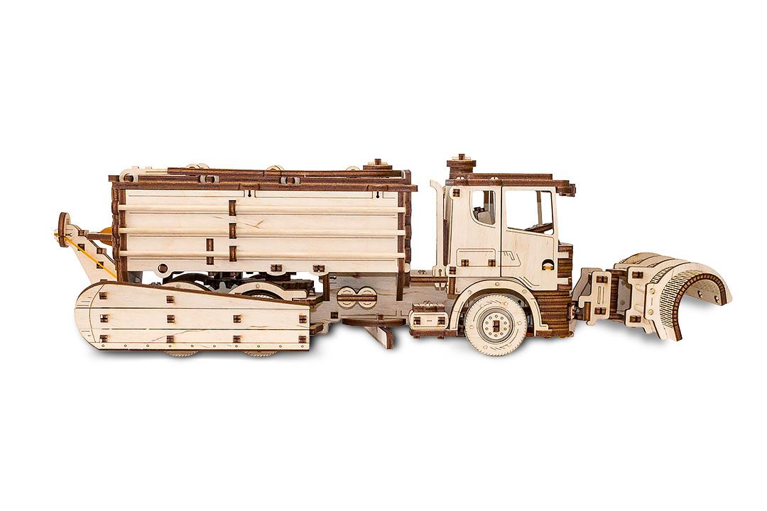 Конструктор 3D EWA - Снегоуборочная машина