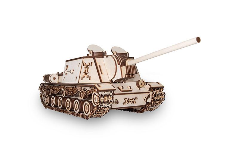 Конструктор EcoWoodArt - Танк ису 152