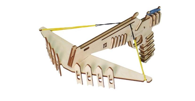 3D Конструктор Пракмитика - Арбалет 1701 (Малый арбалет)