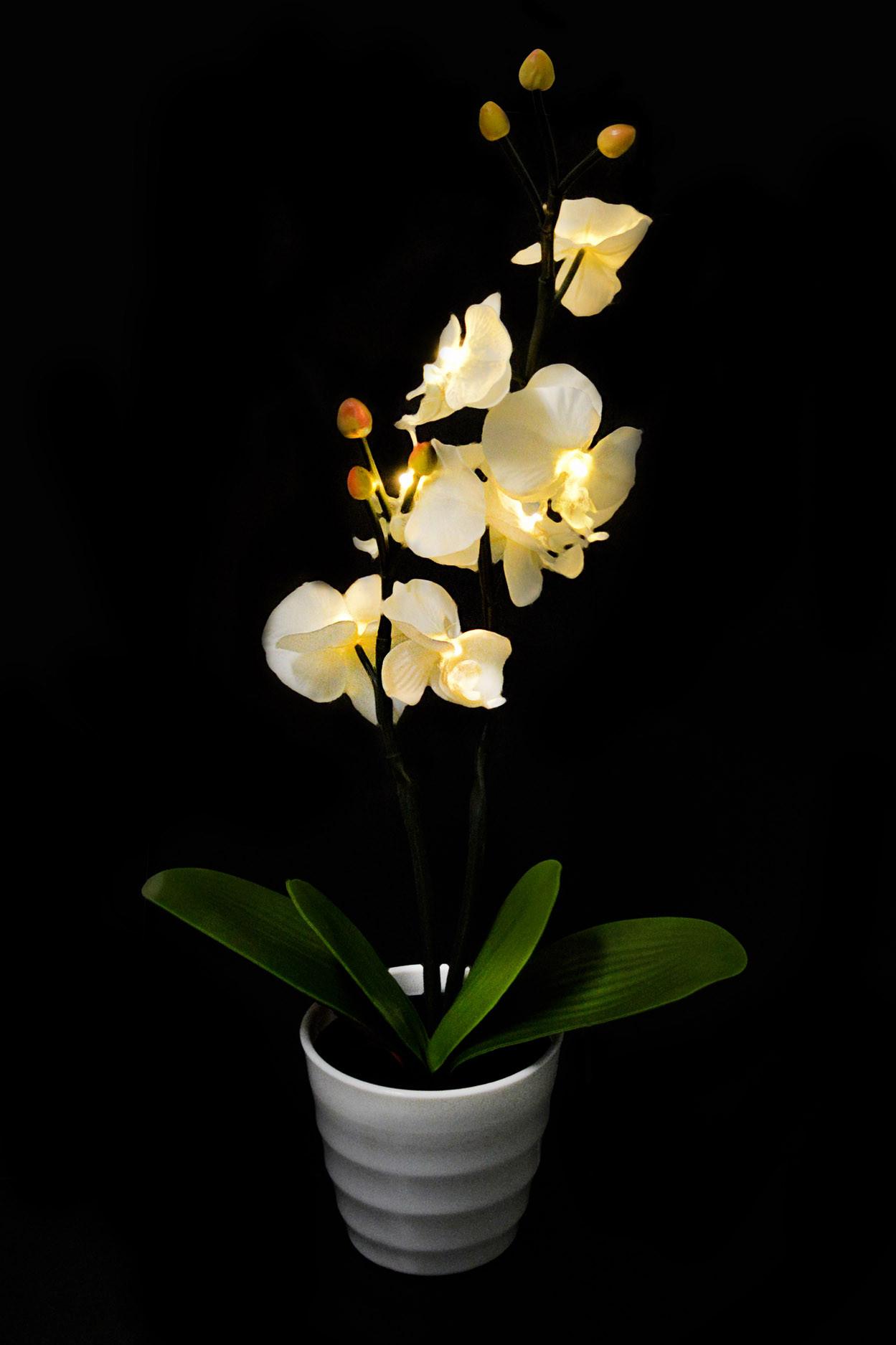 """Светодиодный светильник """"Орхидея белая"""" - 2"""