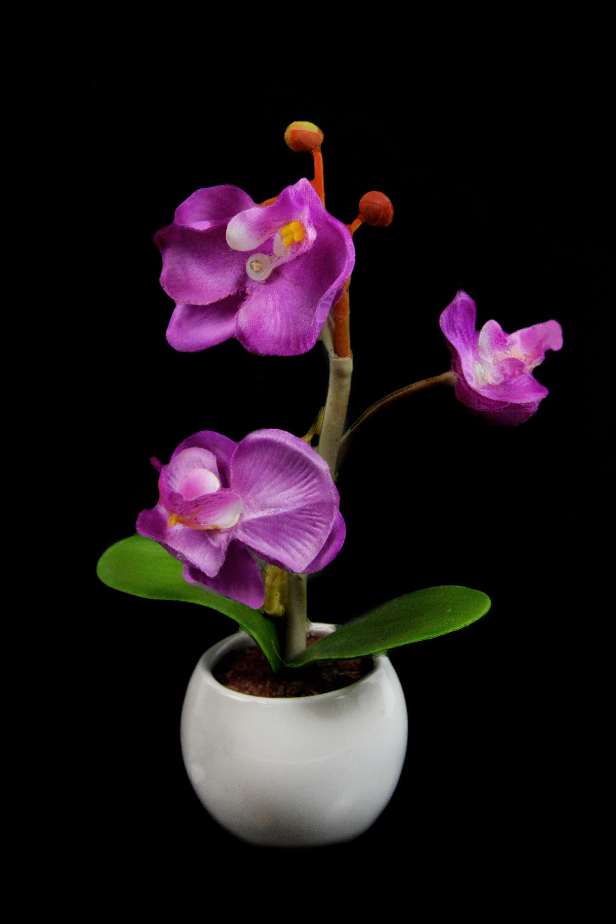 Светодиодный светильник Орхидея mini фиолетовая