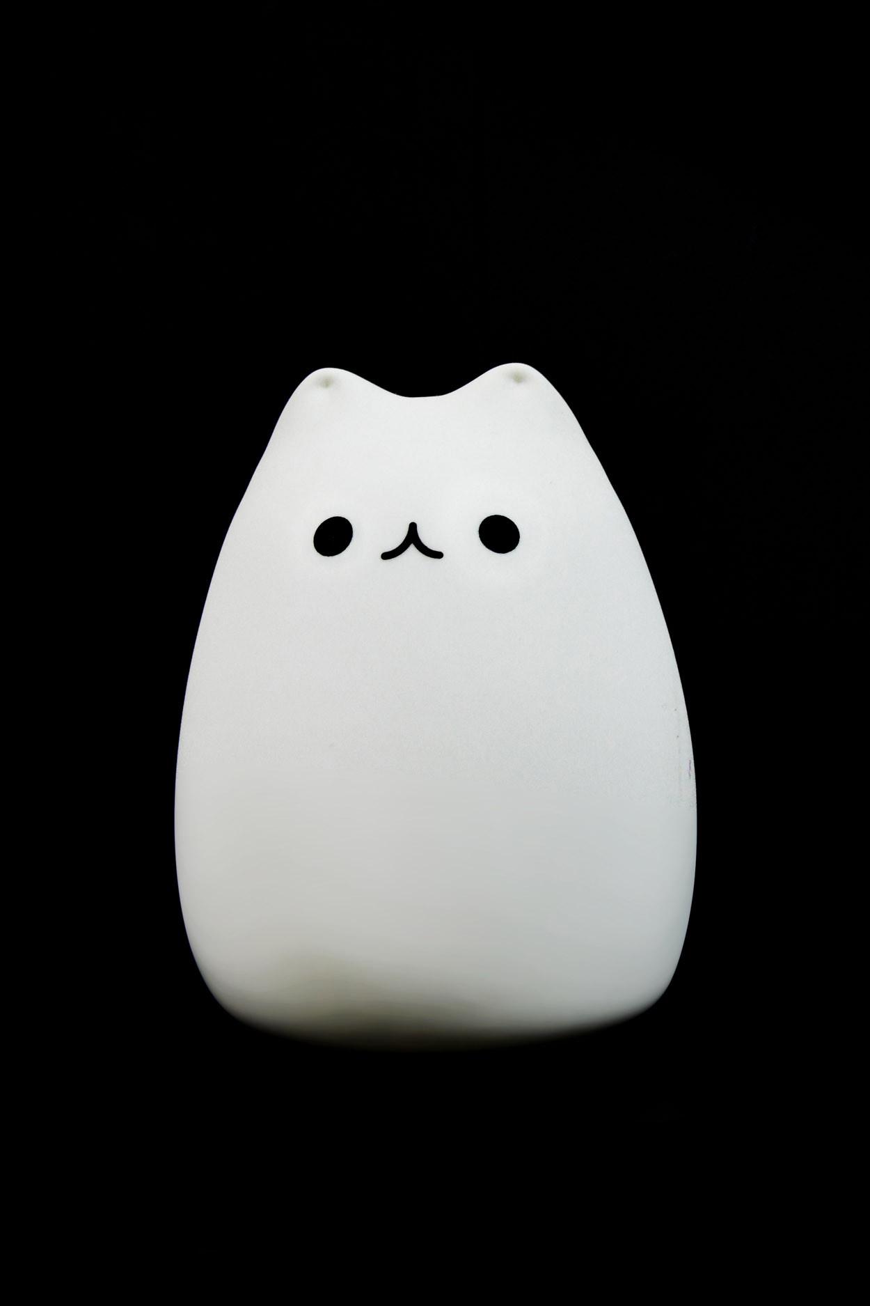 Силиконовый ночник - Кот