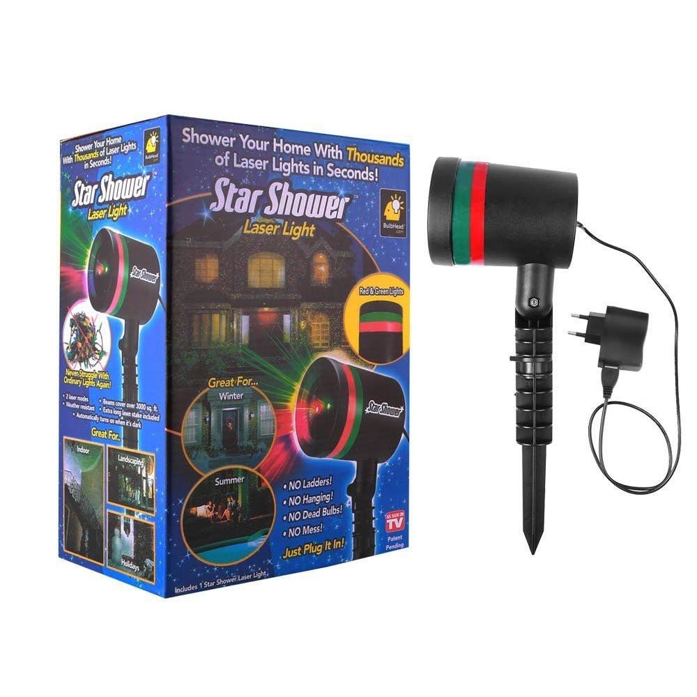Портативный лазерный Star shower