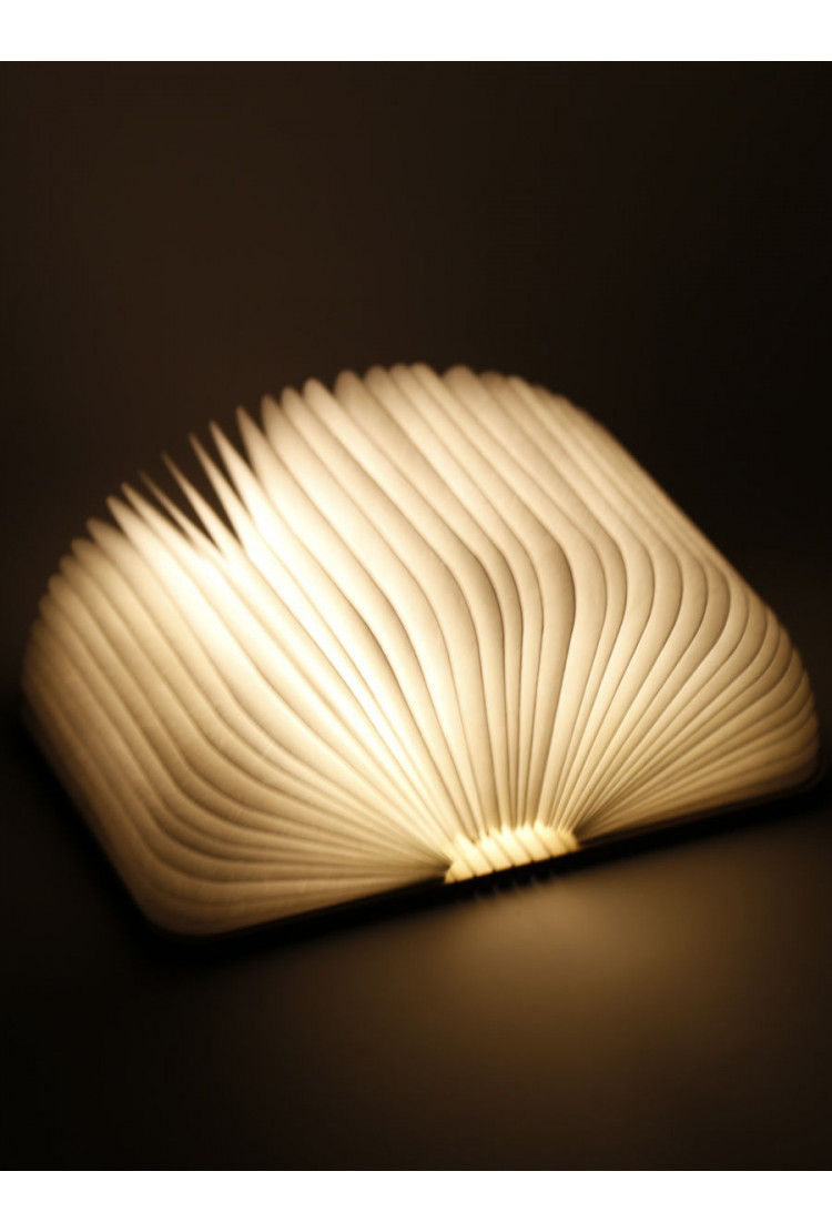 Светодиодная книга Lumobook mini (грецкий орех)