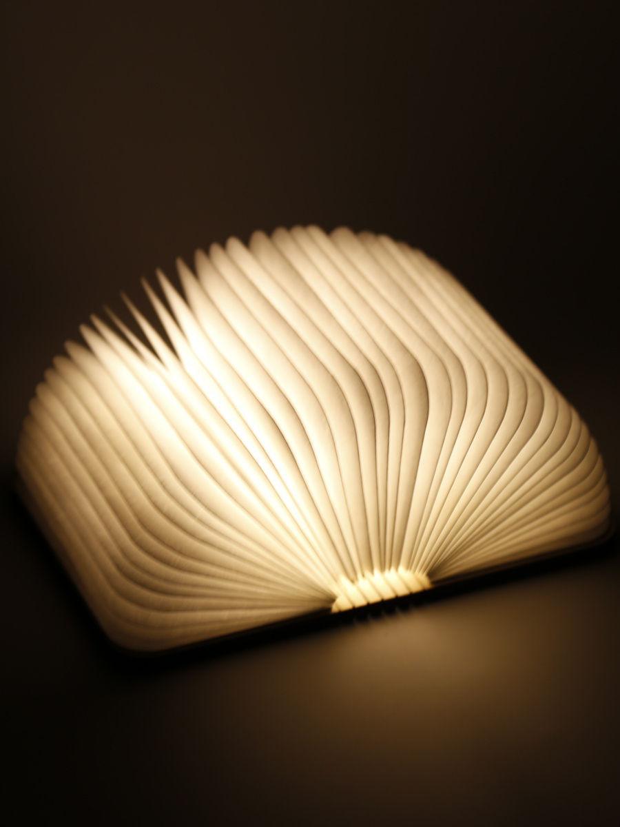 Светодиодная книга Lumobook mini (грецкий орех) (14*12см)
