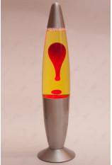 Лава-лампа 41см Красная/Жёлтая