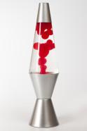 Лава-лампа 36см МТ Красная/Прозрачная (Воск)