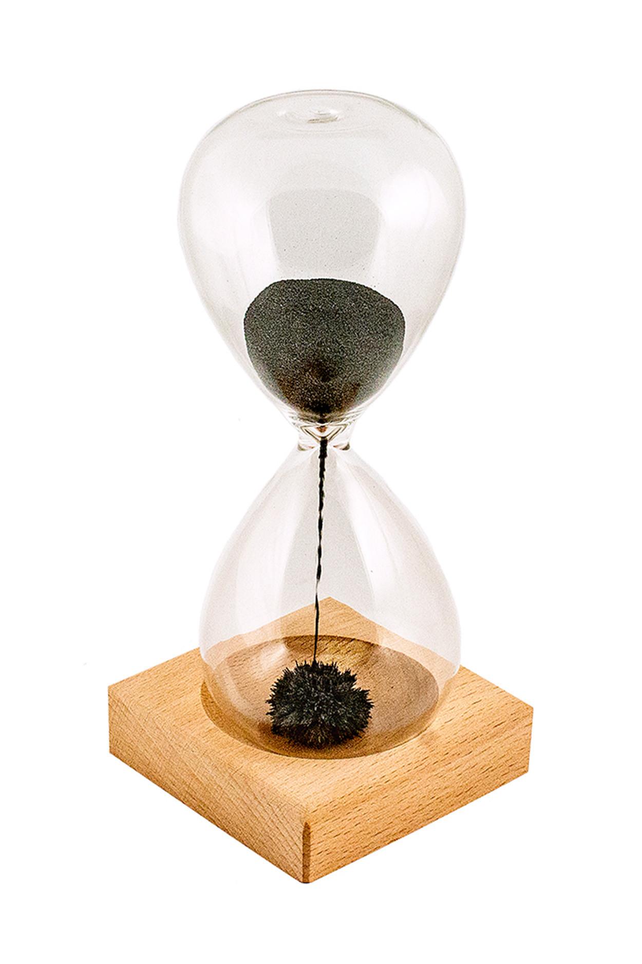 Магнитные песочные часы «Magnetic miracle» (16,5 х 6 см)