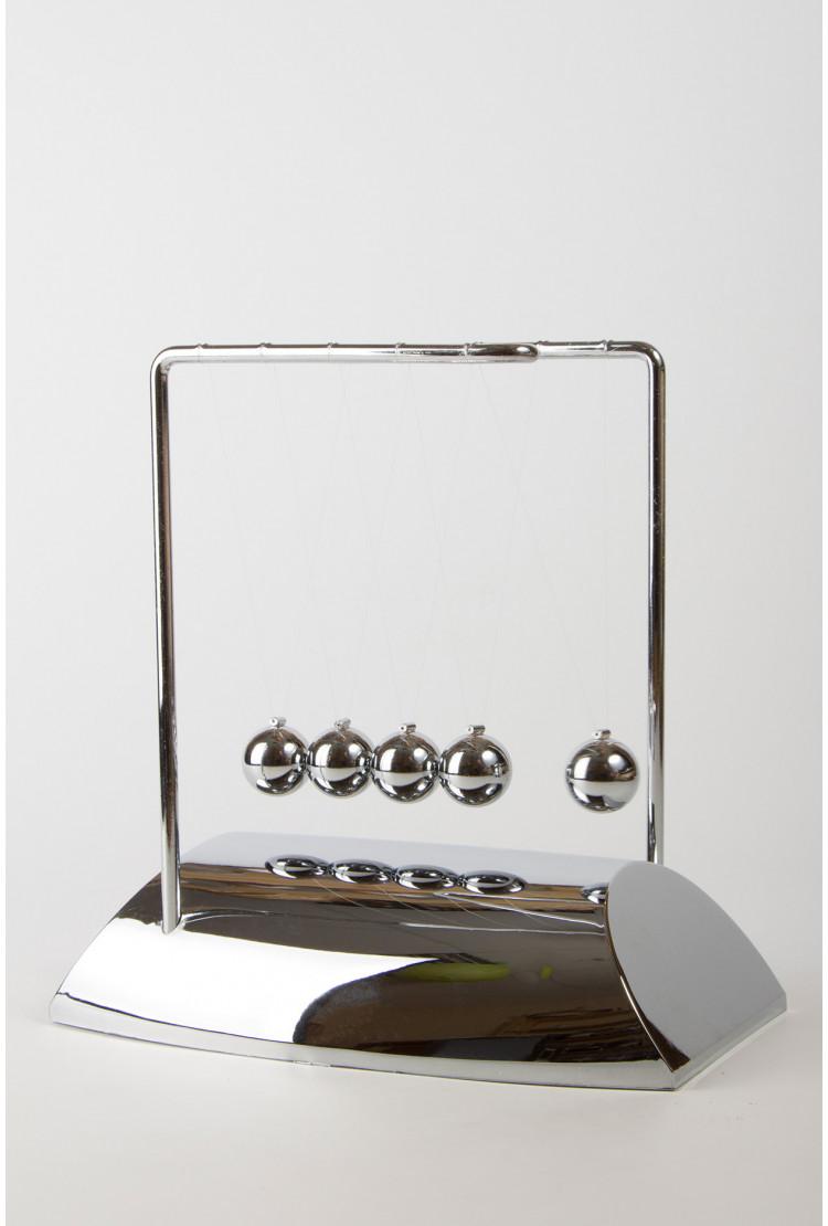 Настольный маятник Колыбель Ньютона Silver 18,5см