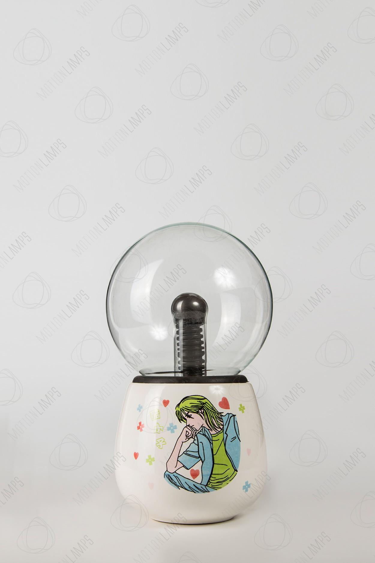 УЦЕНЕННЫЙ ТОВАР! Керамический плазменный шар Тесла Boy2 (D -10см)