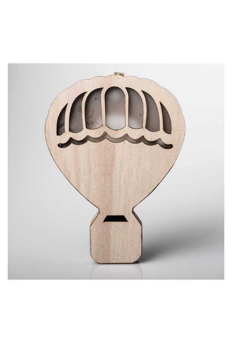 Светильник деревянный «Воздушный шар»