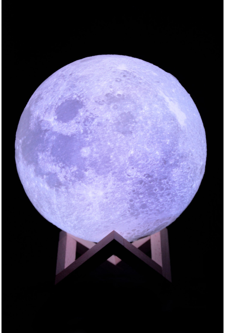 Ночник луна 18 см (RGB)