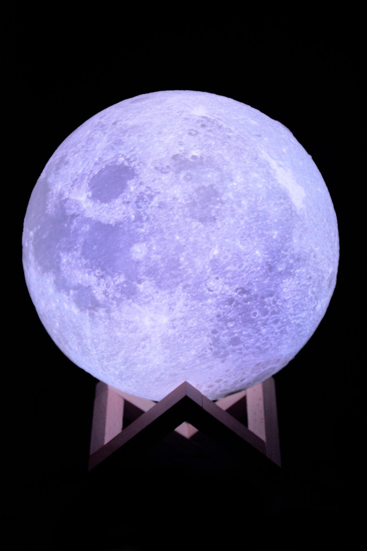 Ночник луна 20 см