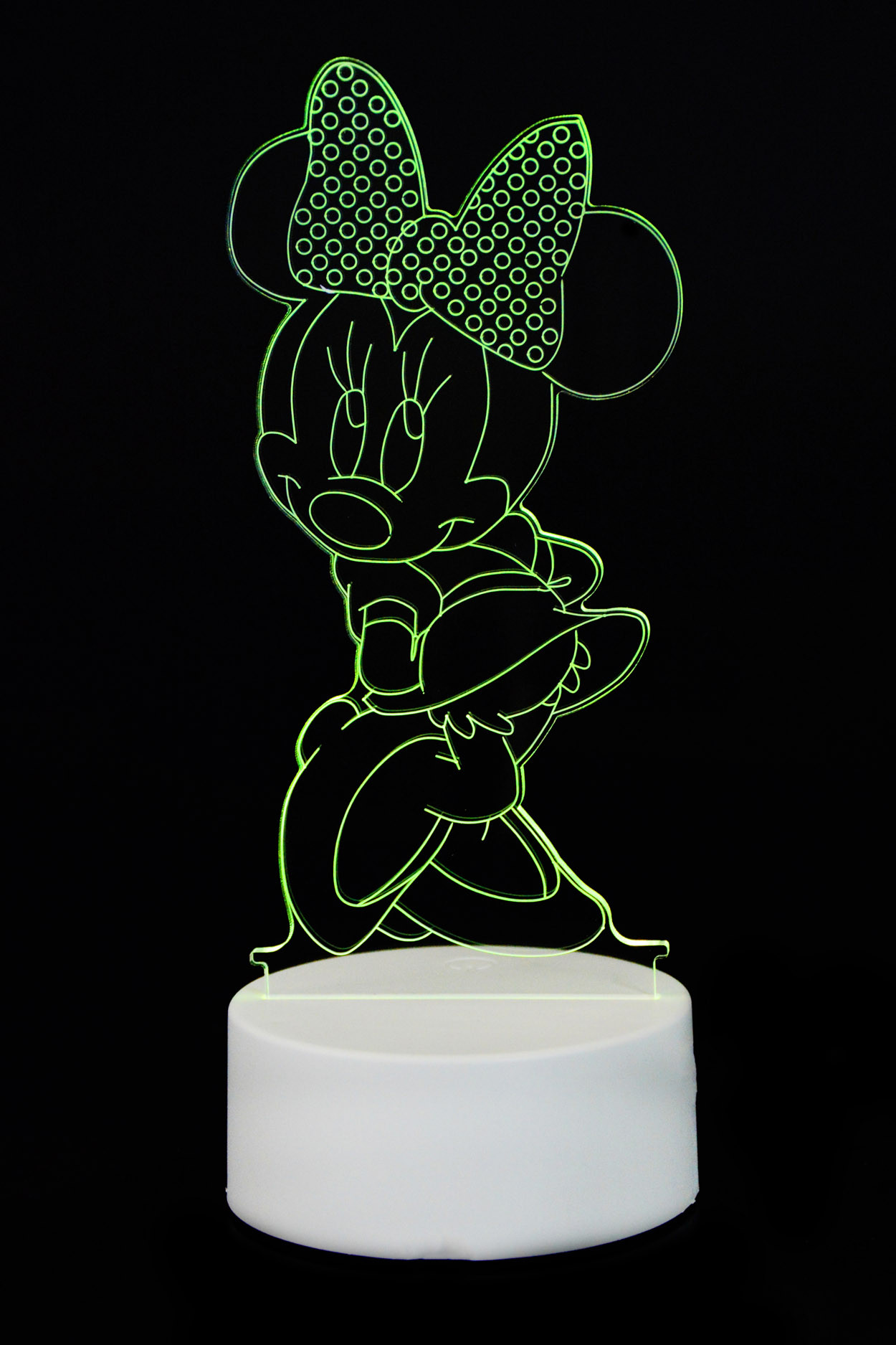 "3D светильник ""Мини Маус"" 7 цветов"