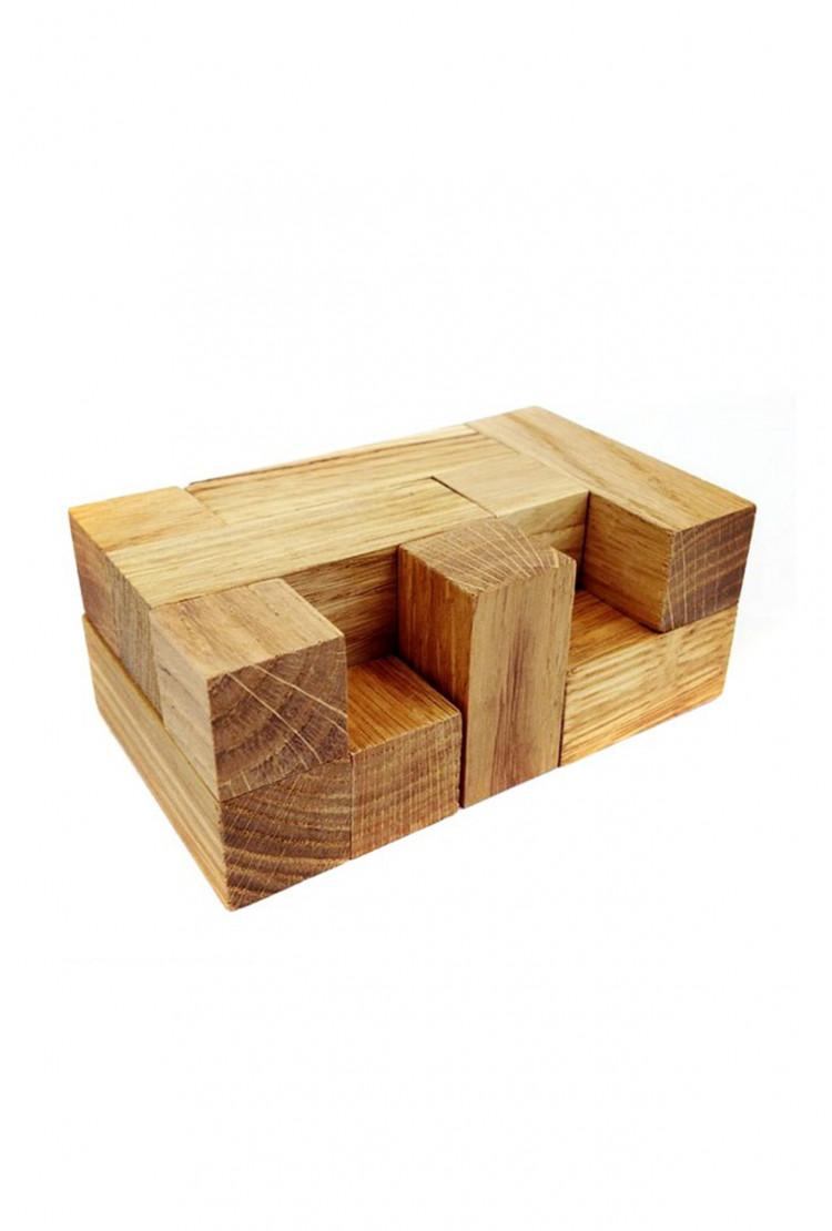 """Деревянная головоломка """"Весенний кубик"""""""