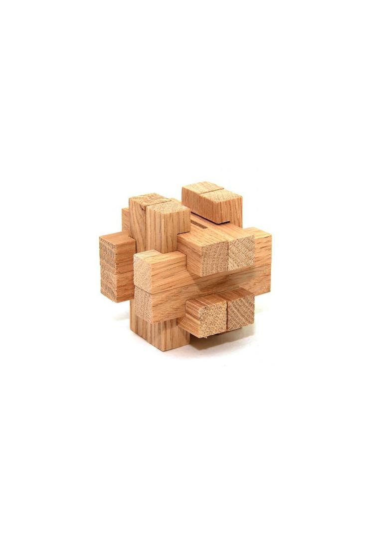 """Деревянная головоломка """"Копилка малая"""" (5x5 см)"""