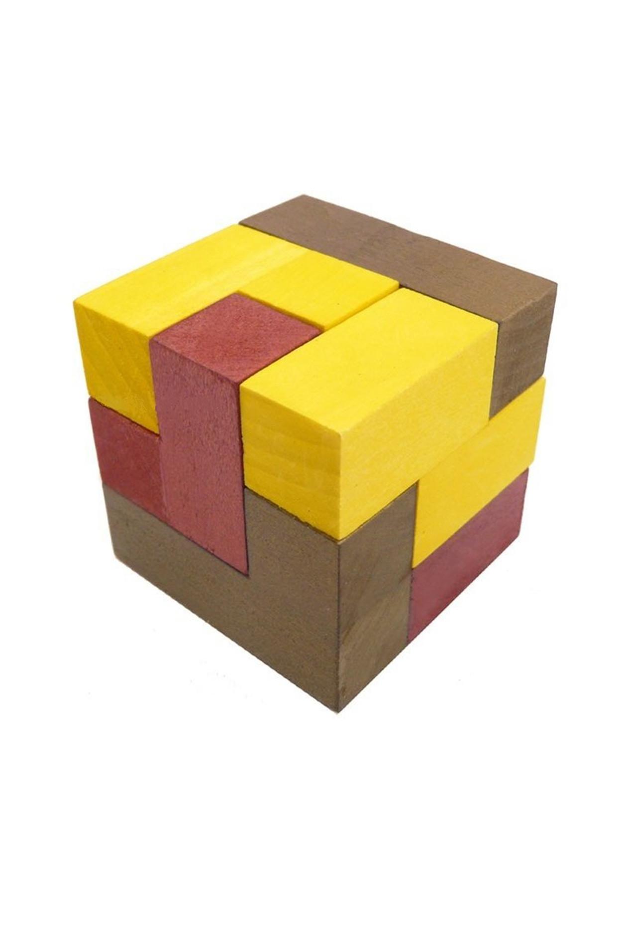 Головоломка деревянная «Кубики для всех»