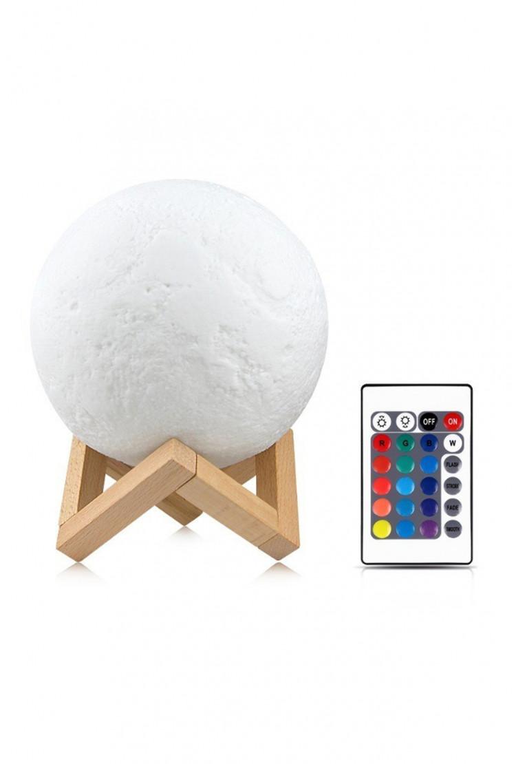Ночник луна 15см (RGB)