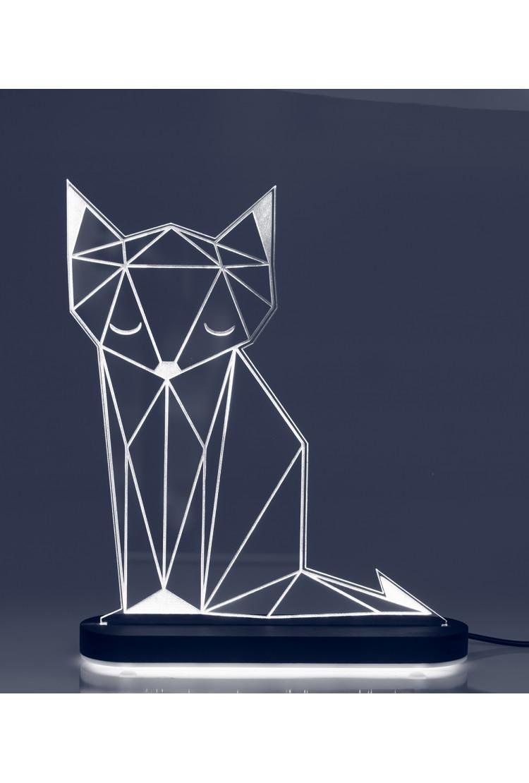 3D светильник Лиса (21*17)