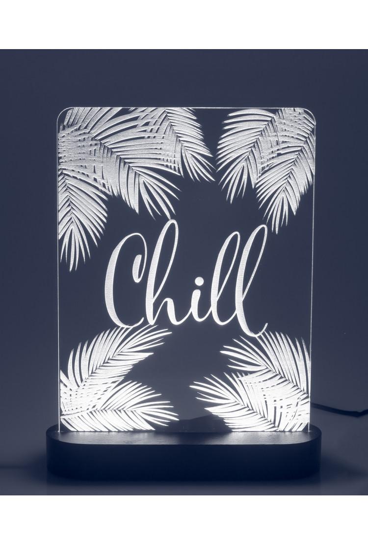 3D светильник CHILL (21*17)