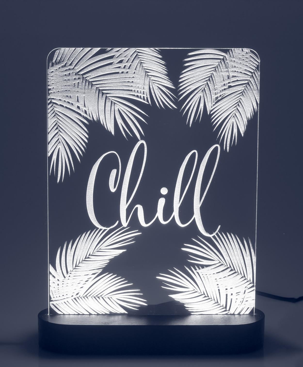 "3D-светильник ""CHILL"" (21*17 см) от 2 590 руб"