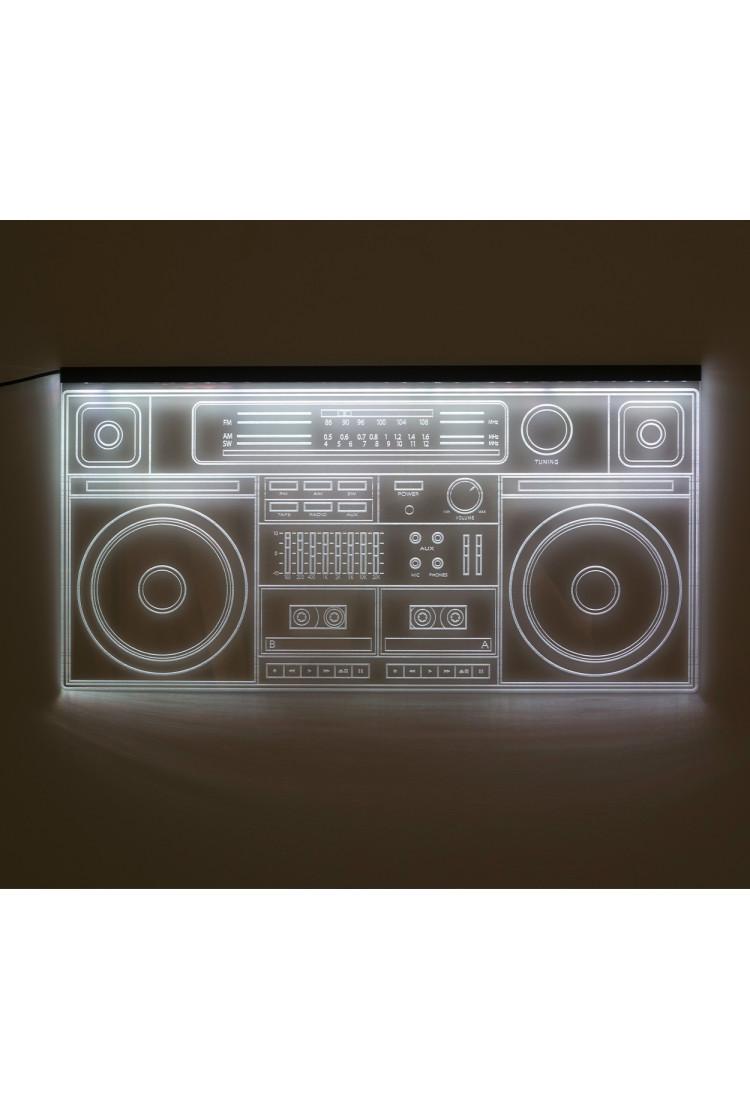 3D светящаяся панель Бумбокс (60*30)