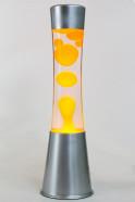 Лава-лампа 39см CG-S Оранжевая/Прозрачная (Воск)
