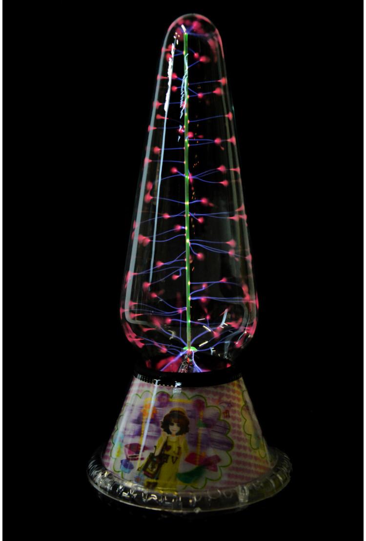Электрическая плазменная Тесла лампа Куклы (H - 29см)