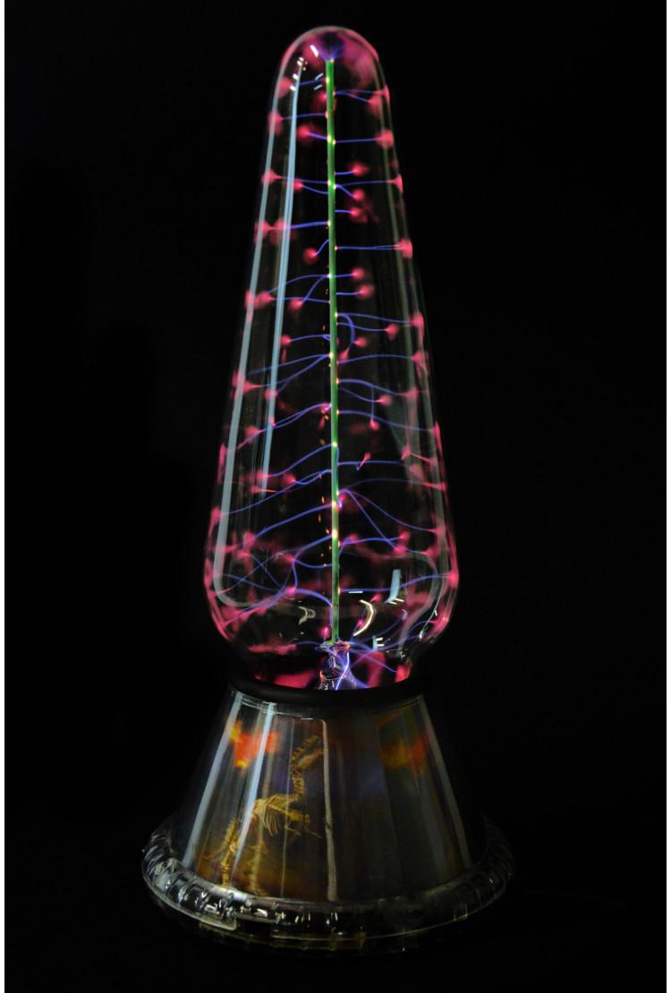 Электрическая плазменная Тесла лампа Динозавр (H - 29см)